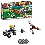 YK GAME Gefallenen Königreich Der Welt Pteranodon Chase Spielset Dinosaurier Spielzeug Kinder Spaß Gebäude Set Bausteine Spielzeug Puzzle,A