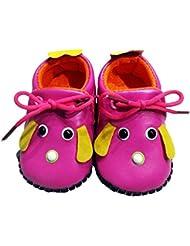 C2BB - C2BB - Chaussures premiers pas cuir souple fille   Mr shoes rose