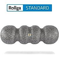 Rodillos para la fascia Rollga, ESTÁNDAR, – 45 cm, forma patentada de 4 zonas