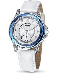 fd190d714101 Time100 W80127L.02A 2017 Reloj Blanco Moderno Básico de Pulsera para Mujer