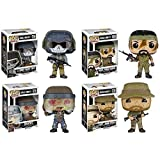 Funko POP! Vinyl Figures Call of Duty Exclusive Set of 4 - Capt. John Price, Lt. Simon Ghost Riley, Brutus and MSGT. Frank Woods by FunKo