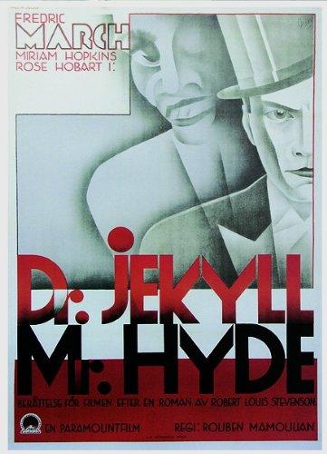 Dr. Jekyll and Mr. Hyde Poster (62cm x 88cm) + weiße Geschenkverpackung. Verschenkfertig!