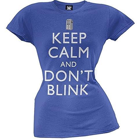 Old Glory - T-shirt - Femme Bleu Bleu
