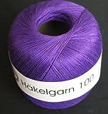 Häkelgarn 100 Gründl Wolle Baumwolle 100 g Farbe 135
