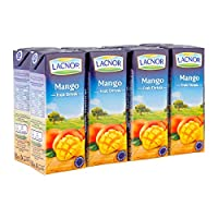 ‏‪Lacnor Mango Fruit Drink, 8 x 180 ml‬‏
