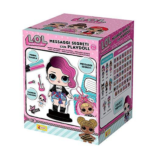 Lisciani Giochi-Surprise Mensajes Segreti con playdoll,, 69460