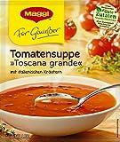 Maggi Für Genießer, Tomatensuppe,Toscana grande, ergibt 2 Teller, 50 g