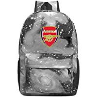 XKYZTKB Ars-enal Travel Laptop Backpack Galaxy Pattern School Bag