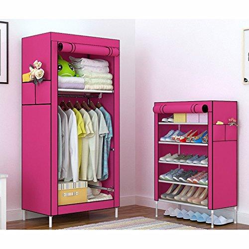 MMM& Simple armoire tissu armoire simple auberge raccords de tuyauterie (couleur : #1)
