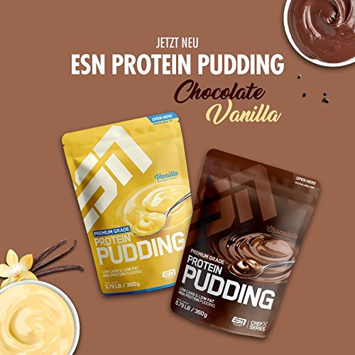 ESN Protein Pudding, Chocolate, 360 g - 4