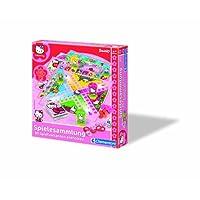 Clementoni-697458-Hello-Kitty-Spielesammlung-80-Spielvarianten Clementoni 69745.8 – Hello Kitty – Spielesammlung – 80 Spielvarianten -