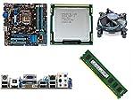 Combo Motherboard Asus H55,I5 650 3.2GHZ,Ram 4Gb DDR3.(OEM)