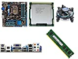 Combo Motherboard Asus H55,I5 650 3.2GHZ,Ram 4Gb DDR3.(OEM)
