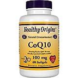 Healthy Origins, CoQ10 ( Kaneka Q10 ), 100 mg, 60 Softgels