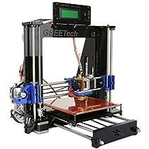 Ridgeyard Stampante 3D Kit Completo Fai Da Te Con MK8 Estrusore Reprap Prusa I3 Schermo LCD USB SD Card