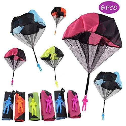 Joyfeel's Store 6 Piezas de Juguete para paracaídas, enredo...