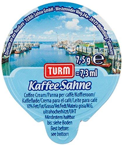 Turm Kaffeesahne 10 Prozent, (240 x 7.5g)=1752ml