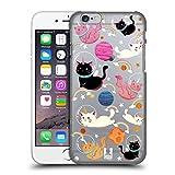 Head Case Designs Katze Raum Einhorn Ruckseite Hülle für Apple iPhone 6/6s