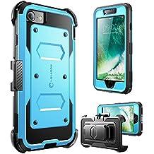 """i-Blason Armorbox 4.7"""" Carcasa rígida Azul - Fundas para teléfonos móviles (Carcasa rígida, Apple, iPhone 7, 11,9 cm (4.7""""), Azul)"""