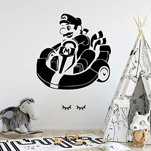 NEUE Mario Wohnkultur Wandaufkleber Abnehmbare Vinyl Tapete Für Kinderzimmer Diy Dekoration gelb 28 * 28 cm