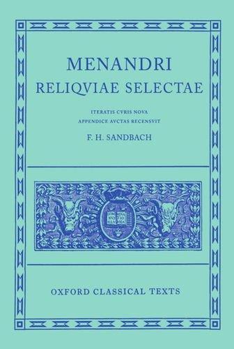 Menander Reliquiae Selectae