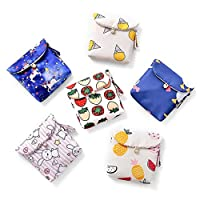 yhdcc44 Cute Portable Sanitary Pad Bags,Convenience Card Bag Makeup Coin Purse Travel Storage for Women and Girl