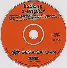 Bootleg sampler Sega Saturn - 4 jeux en démos - Version PAL française