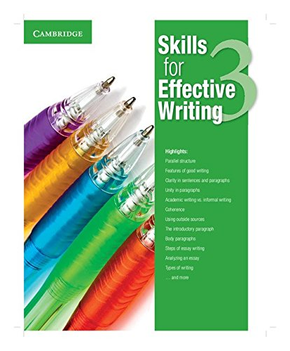 Skills for Effective Writing Level 3 Student's Book por VV. AA.