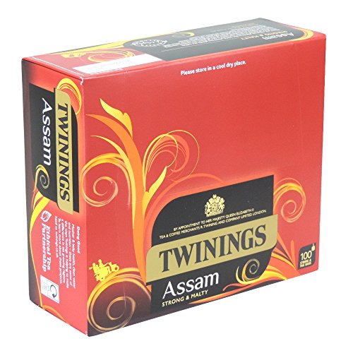 Twinings - Assam Strong & Malty - 100 String & Tag Bags - 200g
