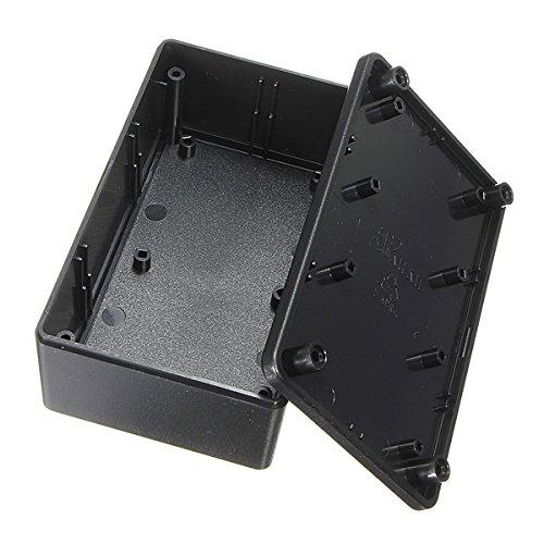 EsportsMJJ Abs Plástico Gabinete Electrónico Caja Proyecto Negro 103X64X40mm