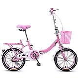 B Vélo Pliant pour Fille, étudiant, Voiture, Enfants, Hommes et Femmes Vélo, vélo...