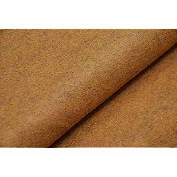 MUSTARD V2 HANDICRAFT Wool//Viscose Felt Fabric Material