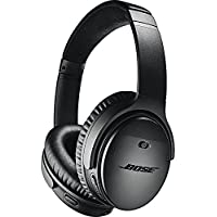 Casque sans fil à réduction de bruit Bose QuietComfort 35 II - Noir