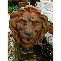Antikas - gárgola león como desagüe de fuentes - salida de agua fuentes - desagüe de agua fuentes de pared