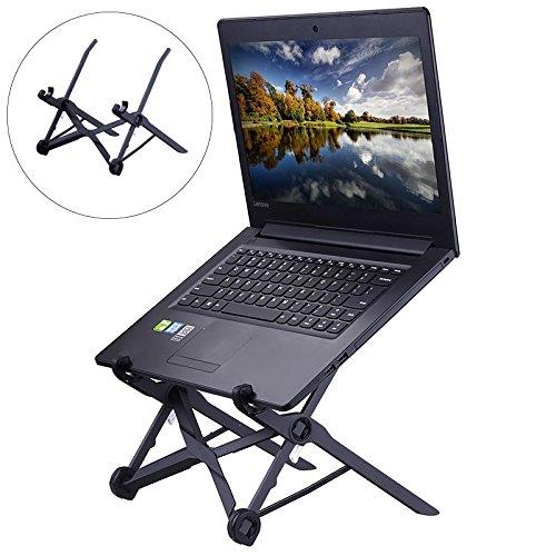 Umiwe Laptop Stand - Super leichter und ergonomisch einstellbarer Laptopständer - Ideal für Reisen - höhenverstellbarer Laptophalter fördert gute Körperhaltung, unterstützt effektives Arbeiten