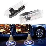 bsvlia 2 unidades para puerta de coche luces luz proyector cortesía Bienvenido Logo Auto Logo...