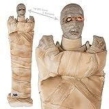 Preis am Stiel Halloween Figur Mumie mit LED, Sound & Bewegung | Statue | Horror | Dekoration | Zombie | Schocker | Halloween Accessoires | Halloween Dekoration