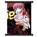 LILA Elfen Lied Anime Fabric Wall Scroll Poster (40.64 cm x 55.88 cm))