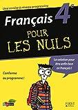 Telecharger Livres FRANCAIS 4EME POUR LES NULS (PDF,EPUB,MOBI) gratuits en Francaise
