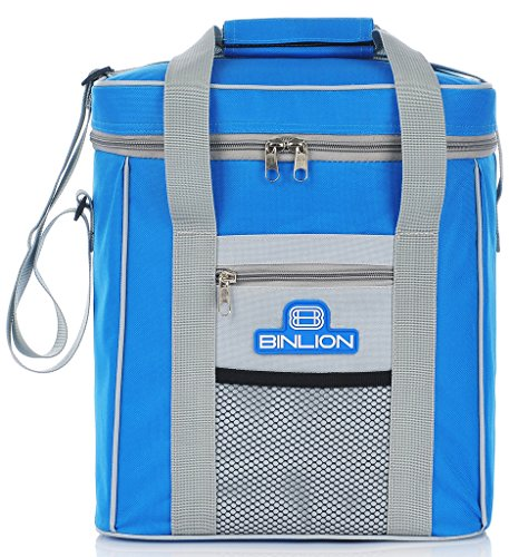 binlion-9-can-insulated-cooler-tote-bag-blue