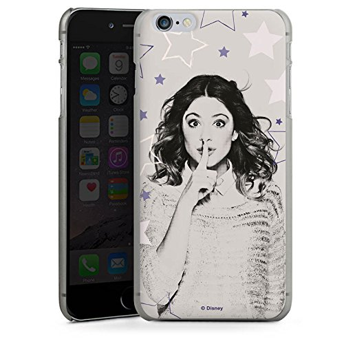 Apple iPhone X Silikon Hülle Case Schutzhülle Disney Violetta Merchandise Fanartikel Hard Case anthrazit-klar