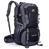 40l aoke outdoor sports adventure waterproof durable backpacks shoulder bag for climbing camping hiking travelling mountaineering