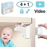 Avantina Magnetische Kindersicherung Schrank und Schubladen - 4 x Schranksicherung – unsichtbare Kindersicherung - Kinder-sicherung für Küchen