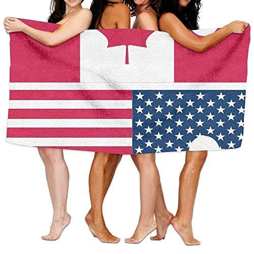 xcvgcxcvasda Badetuch, Bath Towel Canadian American 31