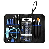 74 In 1 Set di Cacciaviti,Drillpro Cacciavite Di Precisione Magnetico Strumento Kit di Riparazione Hardware Tool Kit Per IPhone NOKIA BLACKBERRY IPad PC Laptop Elettronica Occhiali Da Sole Tablet etc