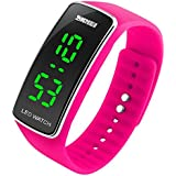 Internet Brand New Fashion Silicone LED Sport Bracelet Touch Digital Watches