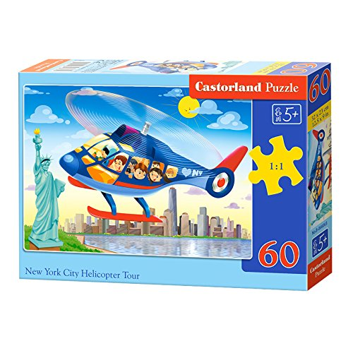 Castorland B-066063 New York City Helicopter Tour,Puzzle 60 Teile