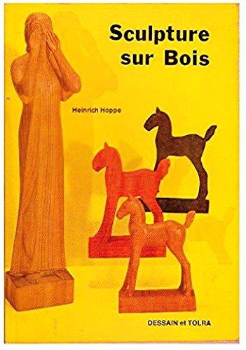 Sculpture sur bois par Heinrich Hoppe