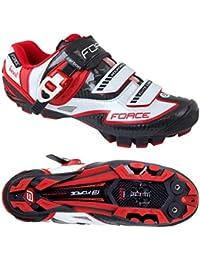 Force - Zapatillas de ciclismo de Material Sintético para hombre