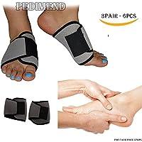 pedimend Verstellbare Fußgewölbe und Fuß Massagegerät (3pairs–6)–Morton-Neuralgie, lindert Druck aus Ihrer... preisvergleich bei billige-tabletten.eu